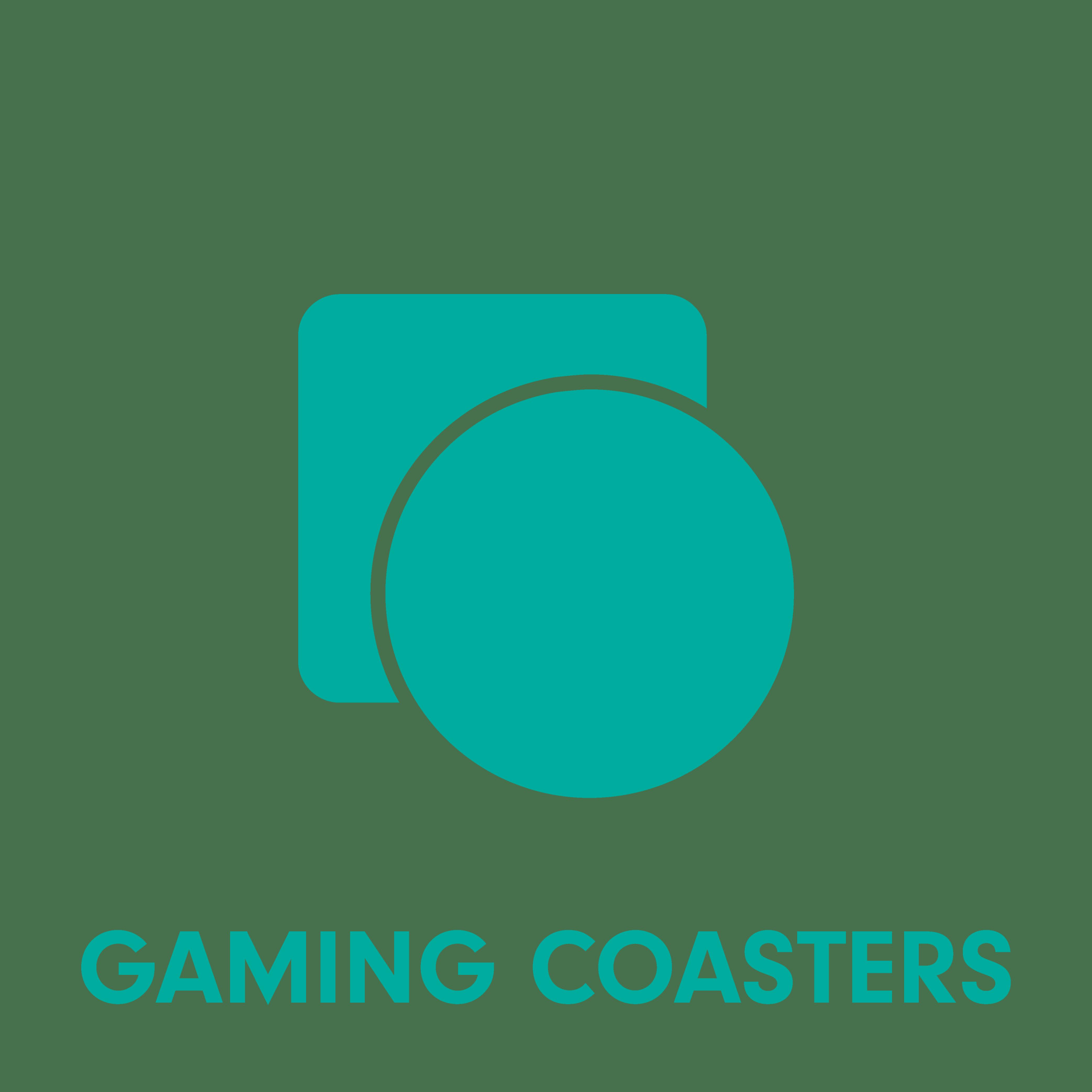 Coaster Colour Logo