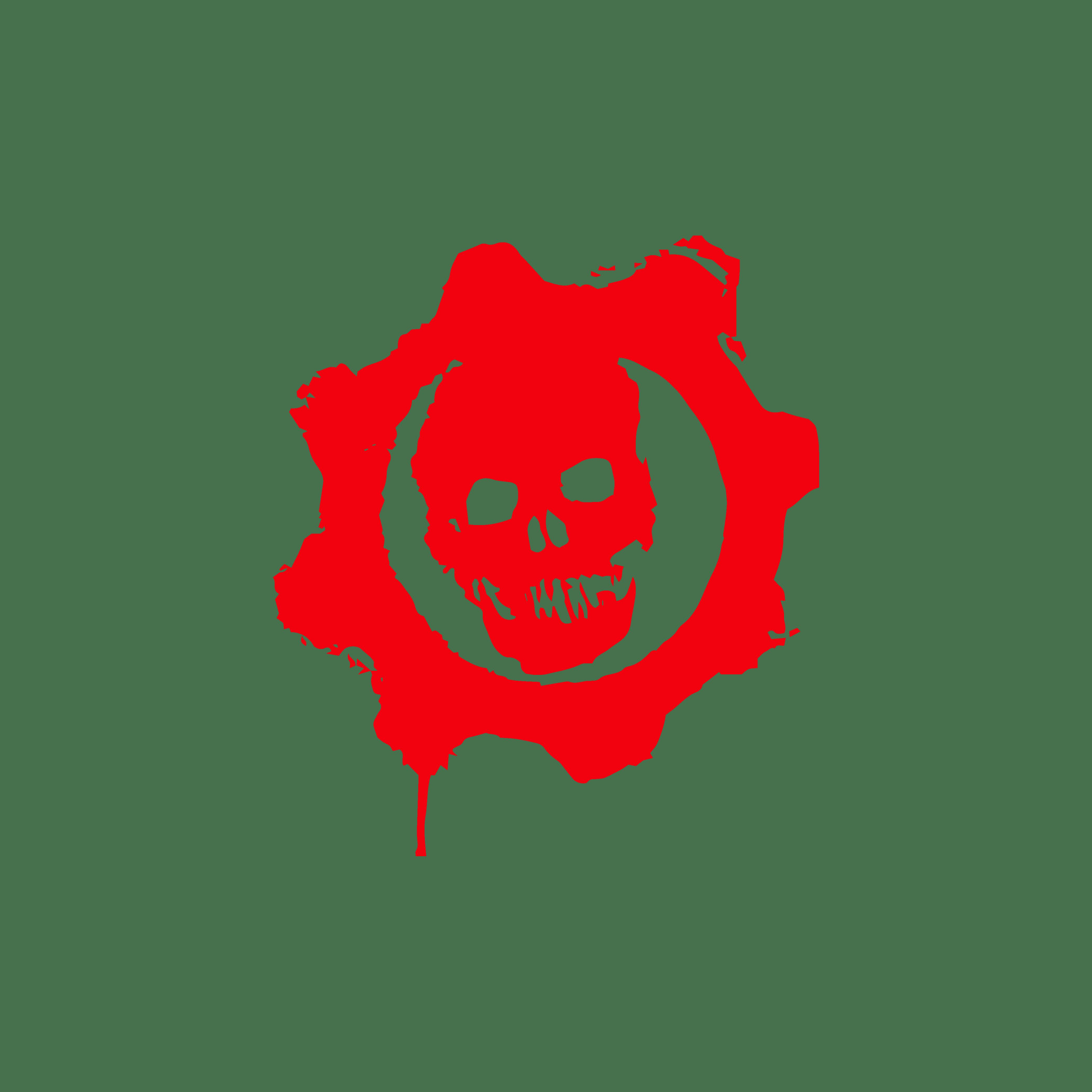 Gears of War Colour Logo