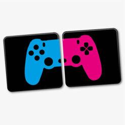 PS4 Couple Coasters