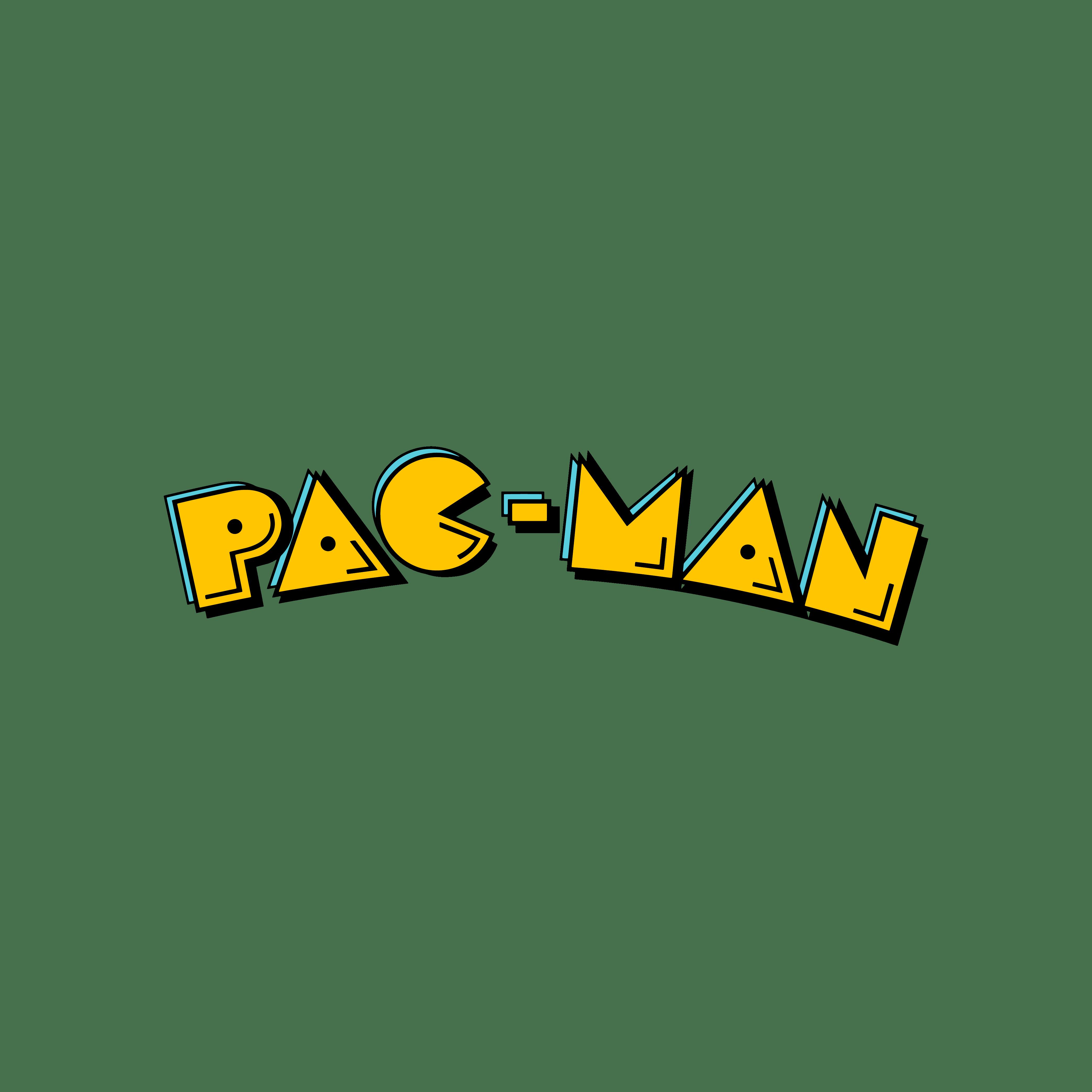 Pac-Man Colour Logo