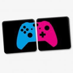 Xbox One Printed Acrylic Couples Coaster Set