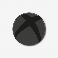 Blackout Xbox Logo Single Coaster
