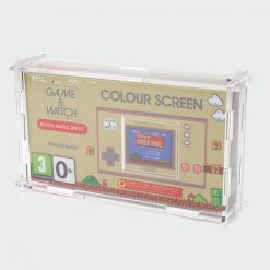 Game & Watch 35th Anniversary Super Mario Edition Boxed Console Acrylic Display Case