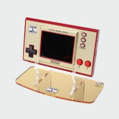 Game & Watch 35th Anniversary Super Mario Edition Printed Logo Acrylic Console Display Stand