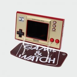 Game & Watch 35th Anniversary Super Mario Edition Overprinted Logo Acrylic Console Display Stand
