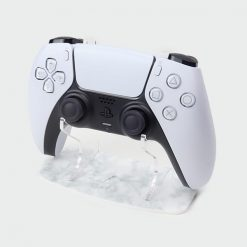 PS5 White Marble Stand