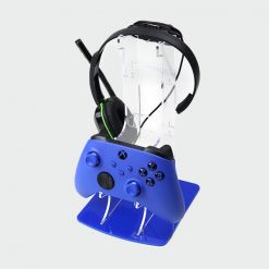 Xbox Series X or Series S Dual Acrylic Controller & Headset Display Stand