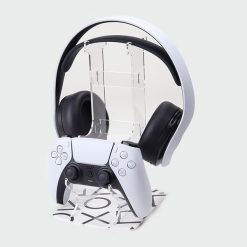Black Buttons + Headset