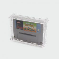 Nintendo SNES Cartridge Display Case