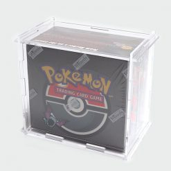 Wizards of the Coast Pokémon Trading Card Game (Team Rocket 1st Edition Booster Box) Display Case