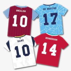 Premier League Football Shirt Hanging Decors
