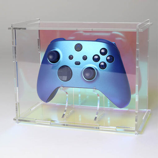 Iridescent Dual Case and Controller Stand